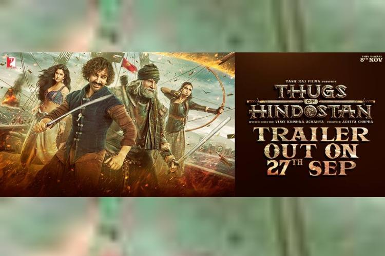`Thugs Of Hindostan` to be dubbed in Tamil, Telugu
