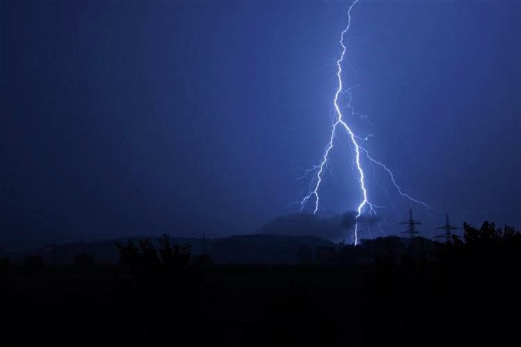 Representational image of lightning