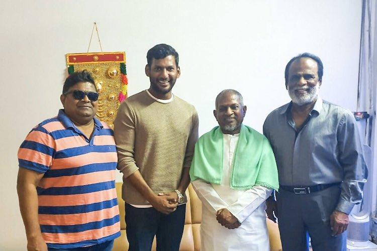 Ilaiyaraaja to compose music for Vishals Thupparivaalan 2