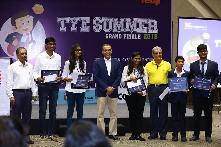 Student Startup idea MyFo wins TiE - TYE Summer Innovation 2018 Challenge
