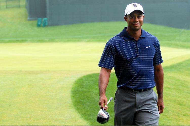 American professional golfer Tiger Woods