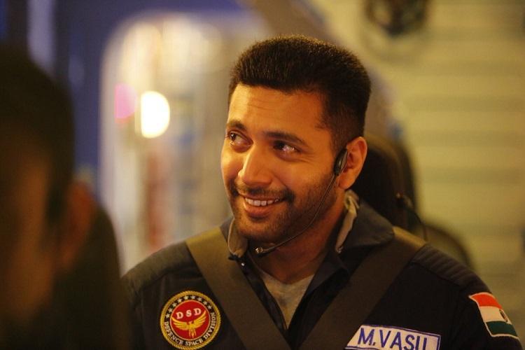 Trailer for Jayam Ravis space film Tik Tik Tik out
