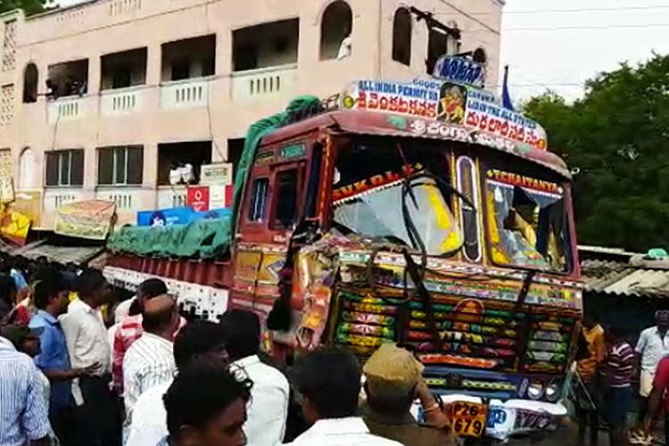 At least 20 killed several more injured as lorry rams into pedestrians in Andhra