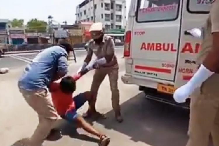 Tiruppur COVID-19 ambulance scare video Increasing stigma for short term gains