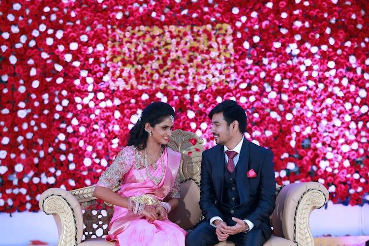 From the decorations to the food served this Tirupur couple had a fully green wedding