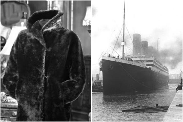 Fur coat worn by Titanic survivor auctioned in Britain for over 230000
