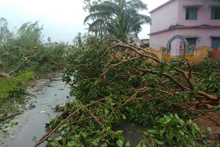 Cyclone Titli 8 dead in Andhra CM Naidu to visit Srikakulam