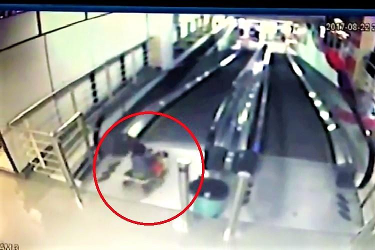 3-year-old tumbles down escalator in Hyderabad mall management blames parents