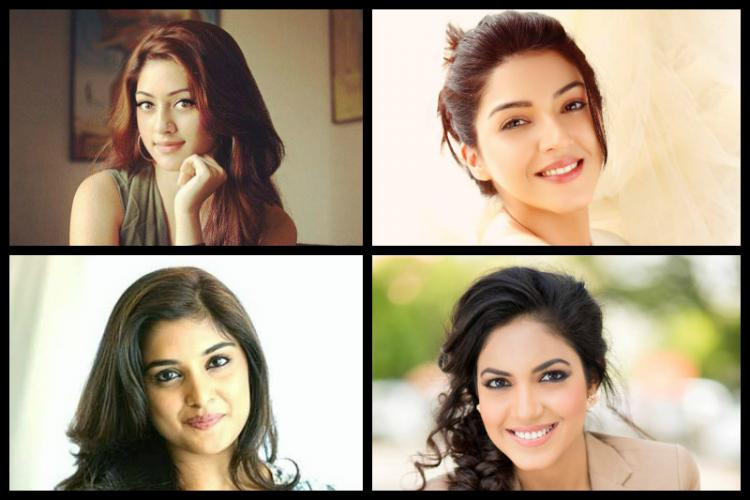 Four emerging Tollywood heroines whore finding their way to the top