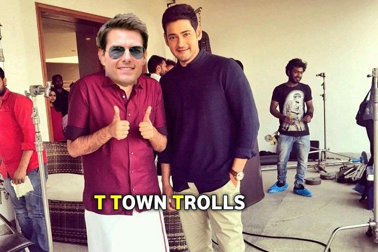 Mission confusion Jr NTR and Mahesh Babu fans fight on Tom Cruises FB page