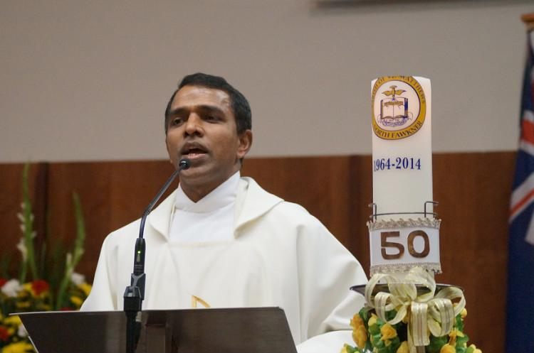 You are an Indian cannot say mass Kerala priest stabbed in Melbourne