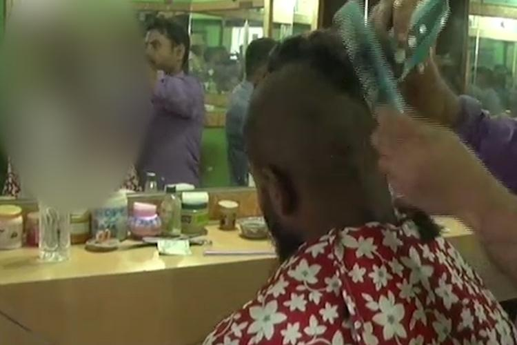To teach lesson against street sexual harassment Ktaka cops forcibly tonsure men