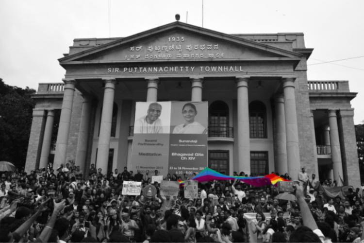 In images As Bengaluru marches for LGBT pride every other colour fades away