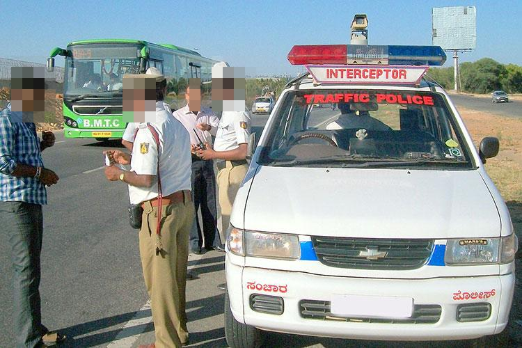 6813 traffic violations in 5 days Bluru traffic police collects over Rs 70 lakh