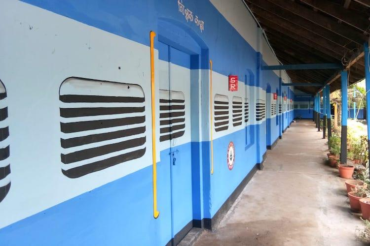 Inspired by Japanese WW2 story Kerala school transforms classes into train coaches