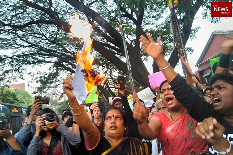 Will go to court if we have to Hundreds protest regressive Trans Bill in Bengaluru