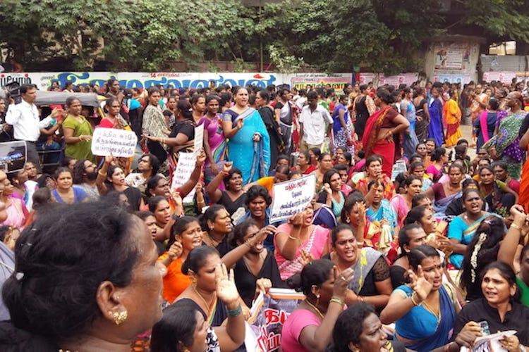 Dont crush us Over 2000 protest in Chennai against regressive Trans Rights Bill