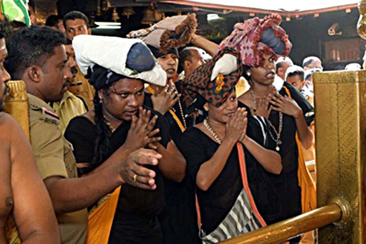 4 trans women enter Sabarimala shrine offer prayers amid police protection