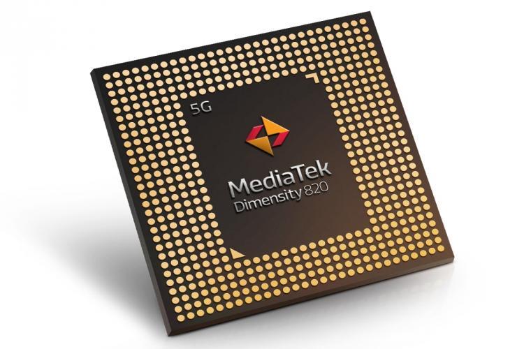 MediaTek announces new Dimensity 820 chip optimised for 5G experiences on smartphones
