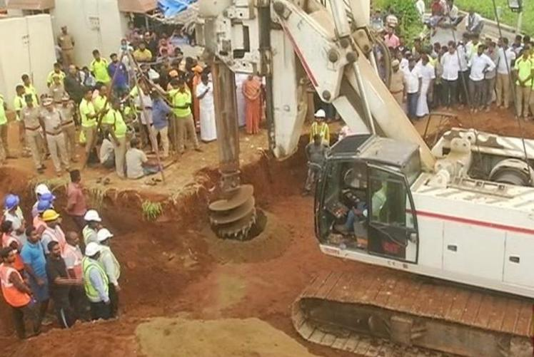 2-year-old boy falls into borewell, rescue efforts underway