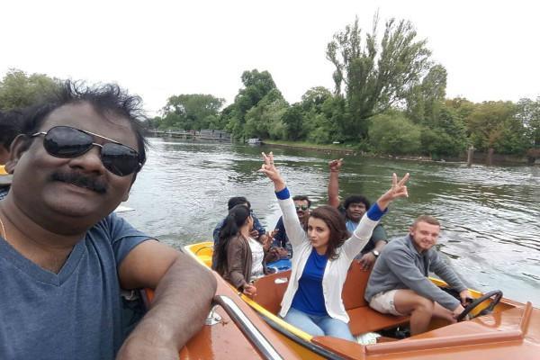 Trishas supernatural thriller Mohini progressing well in London