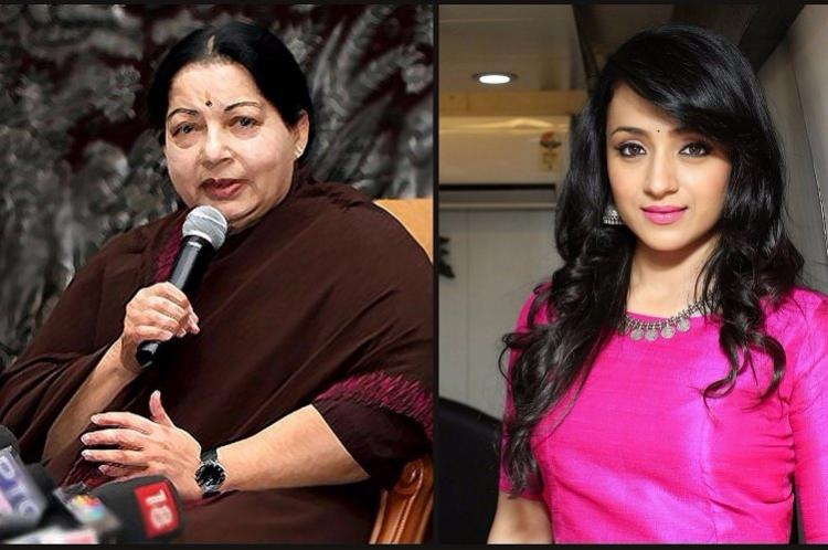 Would love to act as Jayalalithaa in biopic Trisha