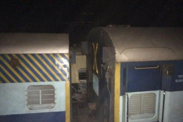 Trivandrum Mail derails after collision with local train near Chennai