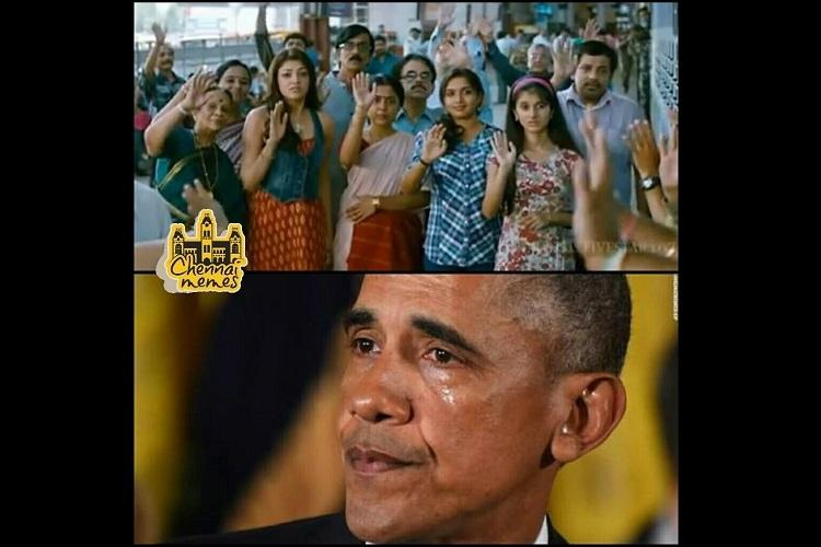 Some laughs among the tears Tamil and Malayalam memes on Donald Trumps victory