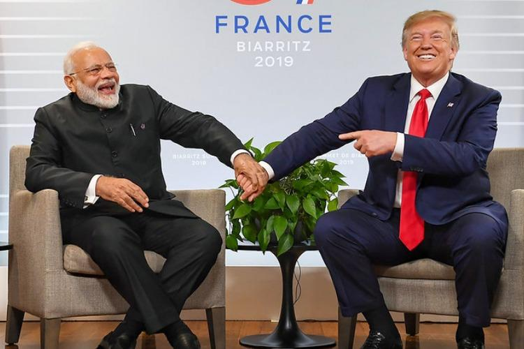Watch Trump says PM Modi promised 10 million people for his Guj visit