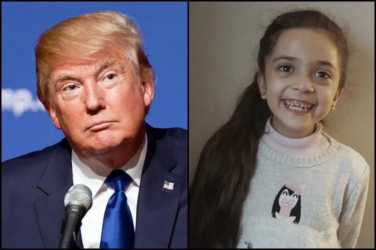 Save the Syrian children and people Twitter girl Bana Alabed beseeches President Trump