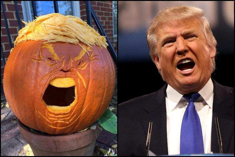 How to Make Halloween Great Again Trumpkin style
