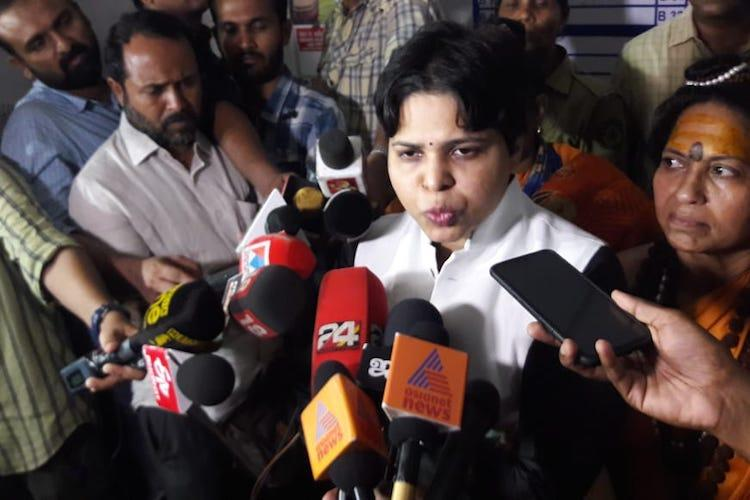 Activist Trupti Desai to leave Kerala as cops refuse security to visit Sabarimala temple