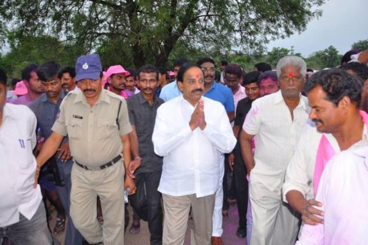 TRS emerges victorious in Palair by-poll