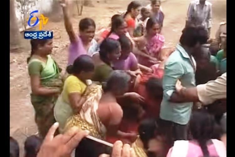 Tempers run high at Andhras Tundurru village as locals protest against Aqua Food Park