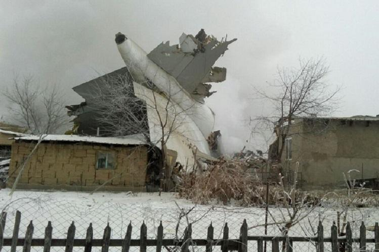 At least 37 killed in Kyrgyzstan plane crash