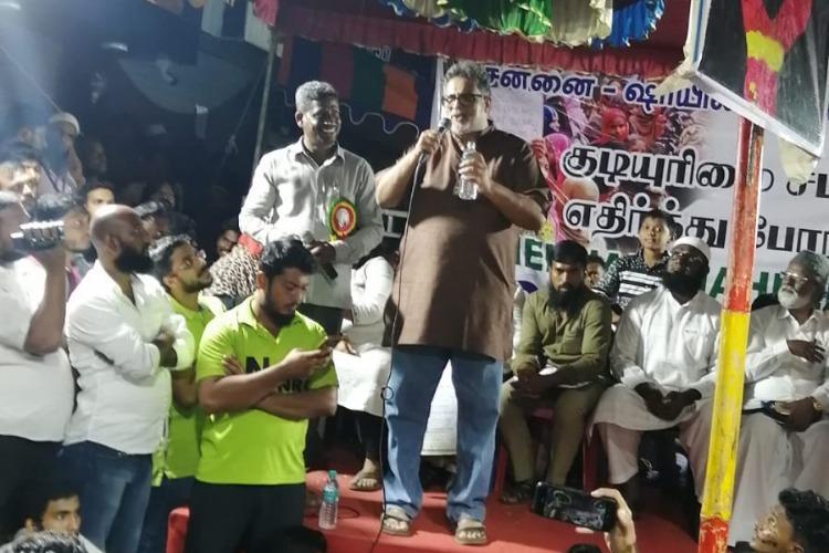 We must fight the idea that anti-CAA agitators are all Muslims Tushar Gandhi