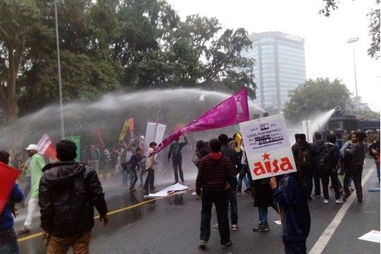 Occupy UGC protesters accuse cops of manhandling and sexual harassing them