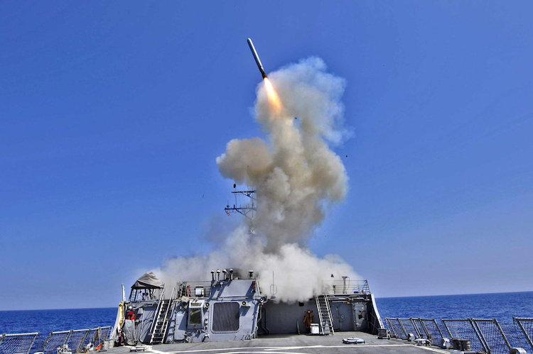 US launches cruise missile strikes on Syria