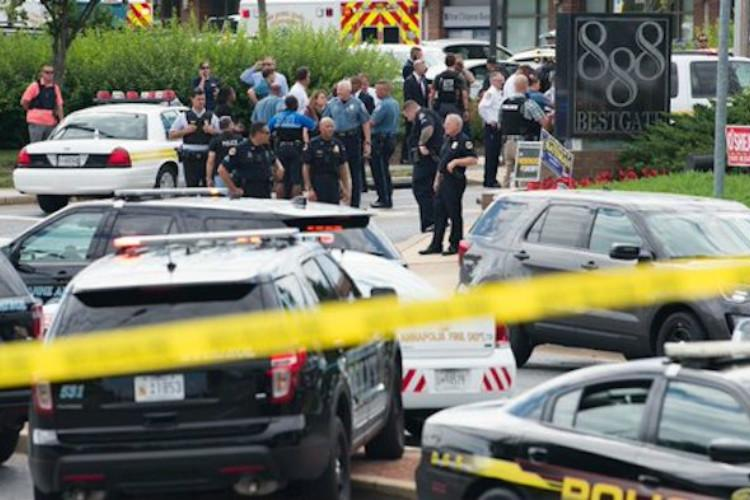 5 killed in US newsroom shooting suspect detained