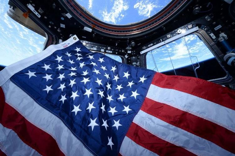 Two US astronauts cast vote from space