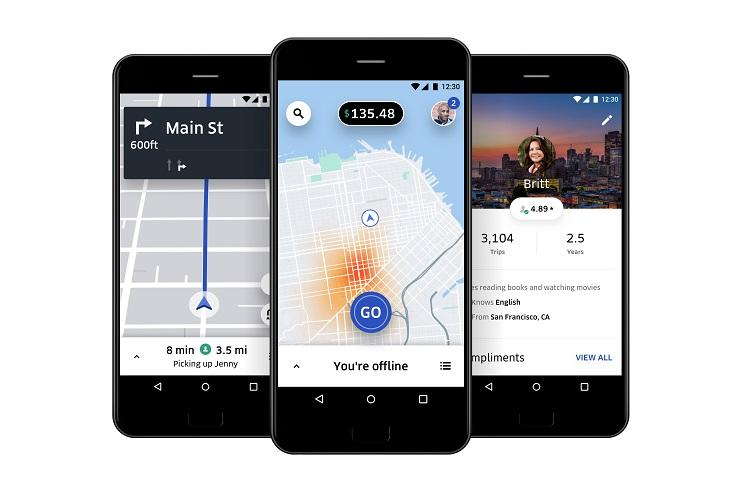 Uber launches new app for drivers in India
