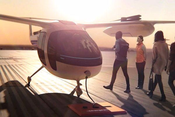 Uber teams up with NASA to build flying taxi air control software
