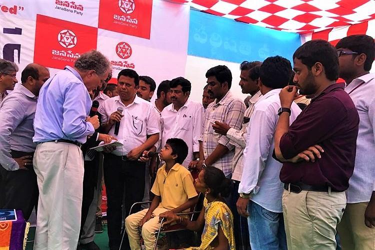 Pawan Kalyan Speech at Uddanam Kidney Chronic Victims in Vizag