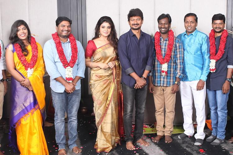 Udhayanidhi Stalin Aathmika team up for a crime thriller