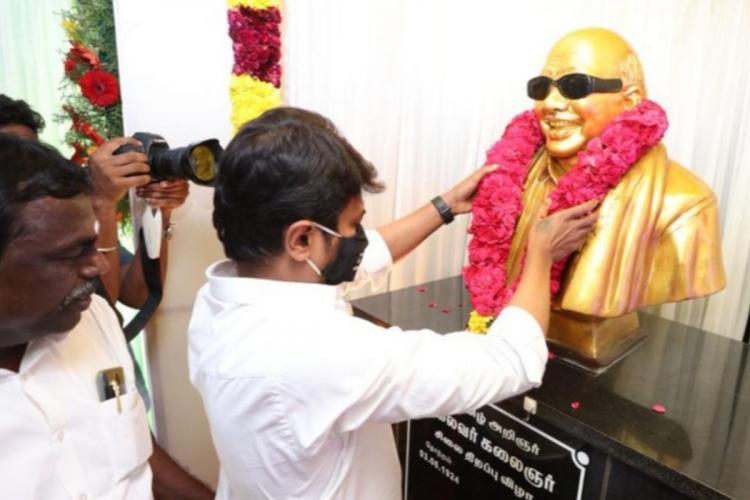 Udhayanidhi Stalin at Tirukkuvalai