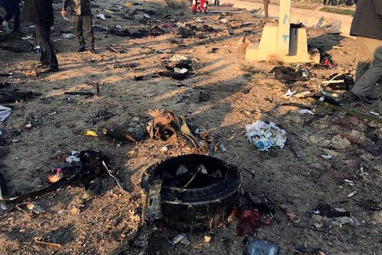 Ukrainian plane crashes in Iran kills all 176 onboard