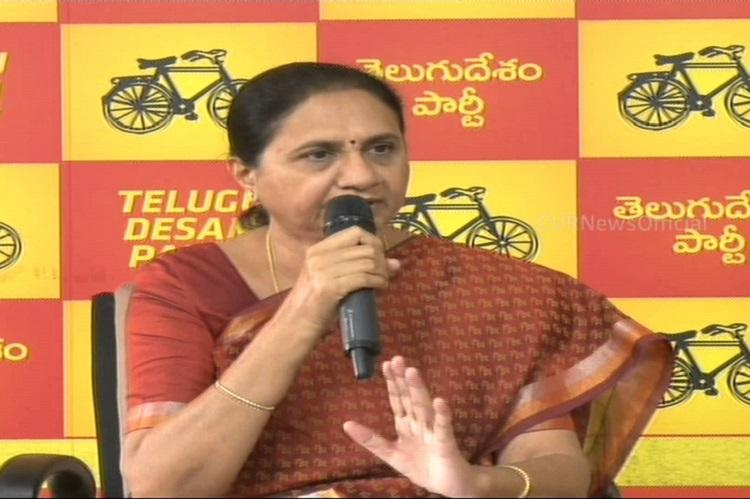TDP MLA rejects allegations that she had close ties with Maoist-turned gangster Nayeem