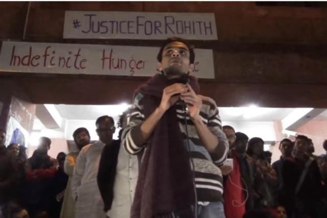 No one but BJP-RSS can destroy India Umar Khalid cracks JNU up with fiery speech