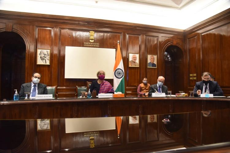 FM Nirmala Sitharaman holds first pre-budget talks with India Inc