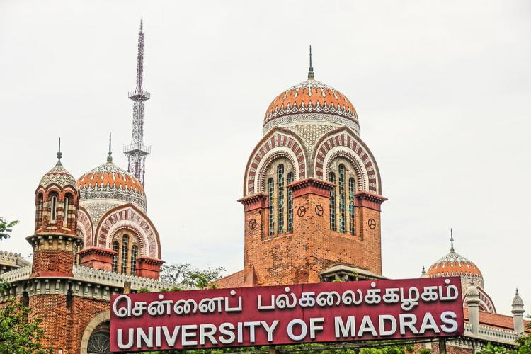 Madras Uni Controversy Political science classes resume but conditions apply